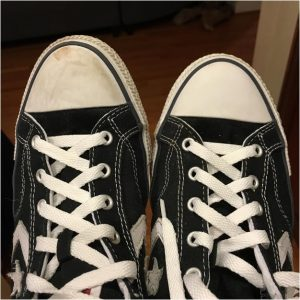 zapatillas limpias
